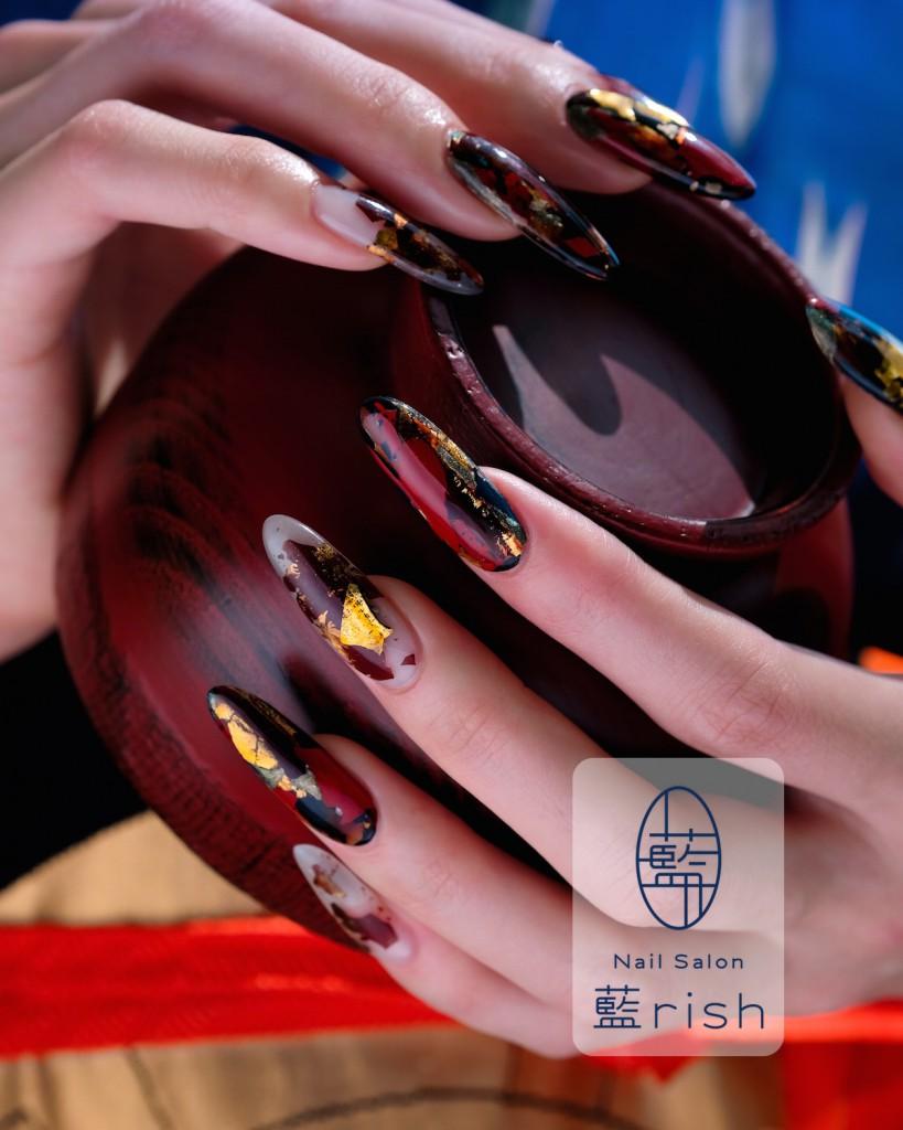 伝統工芸 漆ネイル
